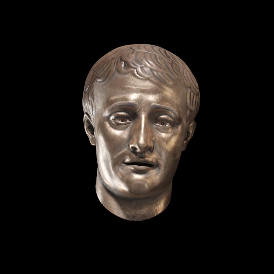 3D bust AR model