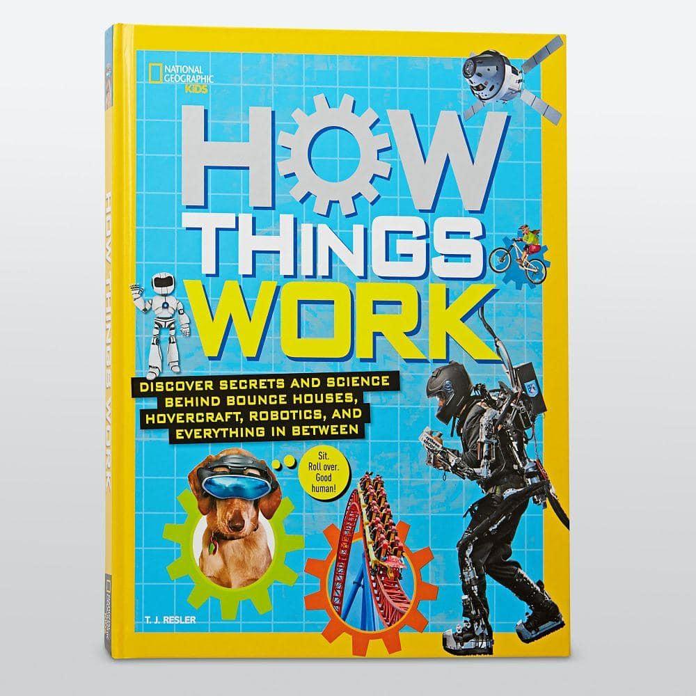 NatGeo Kids How Things Work Book